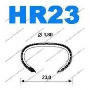 Скоба Hog-rings HR23 galv, Omer (5 / 30 тыс.шт.)